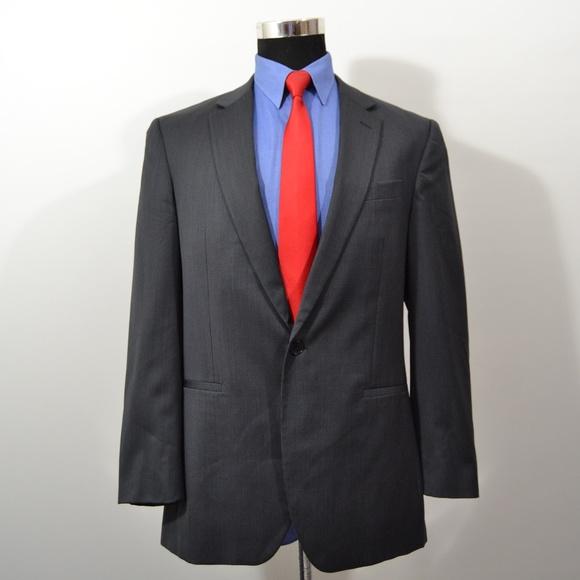Kenneth Cole Other - Kenneth Cole 41R Sport Coat Blazer Suit Jacket Gra